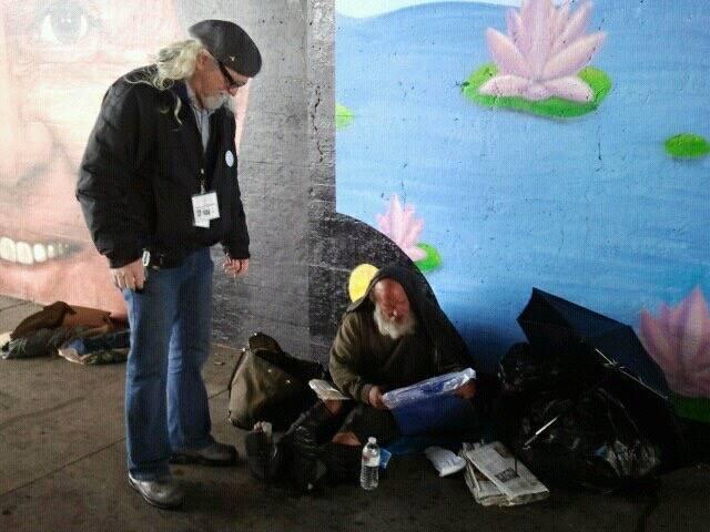 Robin Nixon GOAL Advocacy Dennis Davis On The Streets