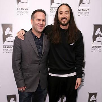 Robin Nixon Grammys Steve Aoki Together